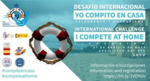 ILSE Member in Spain organised a virtual competition in lifesaving sports